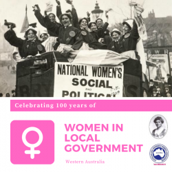 100 years of Women in Local Government